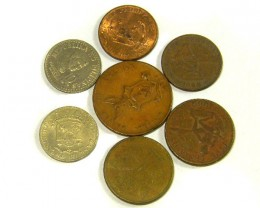 PHILIPPINES COIN L7, 1937-1988 10, 25, 5, 1 CENT COINS T1303