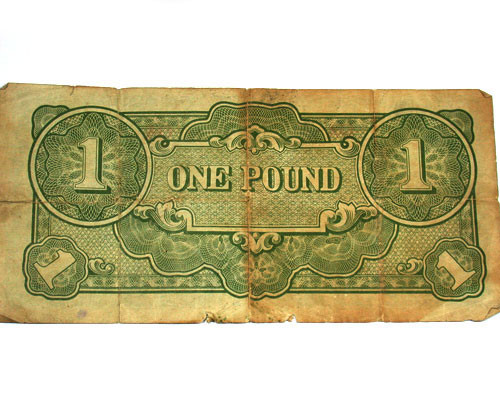 JAPANESE INVASION MONEY 1943 FOR AUSTRALIA   T 181